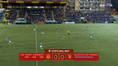 Full match: Sant Andreu vs Atletico Madrid