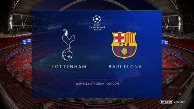 Full match: Tottenham Hotspur vs Barcelona