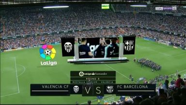 Full match: Valencia vs BarcelonaFull match: Valencia vs Barcelona