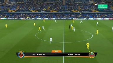 Full match: Villarreal vs Rapid Wien