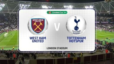 Full match: West Ham United vs Tottenham Hotspur