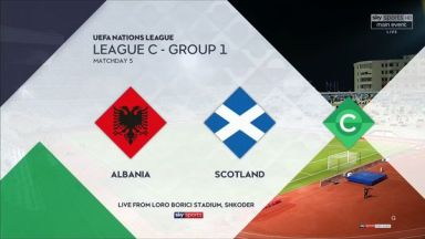 Full match: Albania vs Scotland