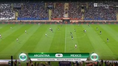 Full match: Argentina vs Mexico