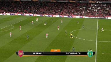 Full match: Arsenal vs Sporting Lisbon