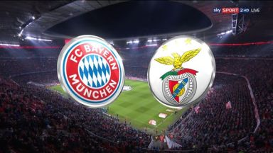Full match: Bayern Munich vs Benfica