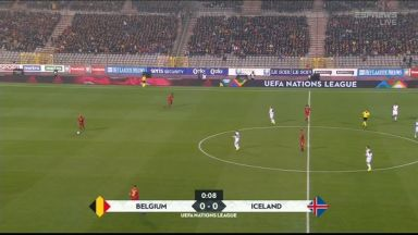 Full match: Belgium vs Iceland