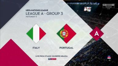 Full match: Italy vs Portugal