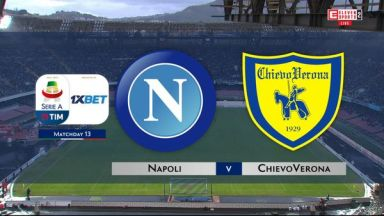 Full match: Napoli vs Chievo