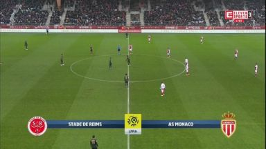 Full match: Reims vs Monaco