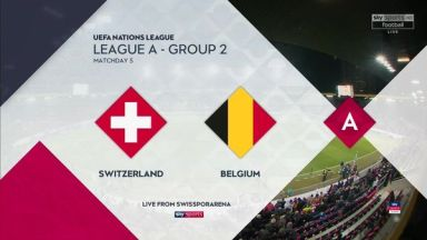 Full match: Switzerland vs Belgium