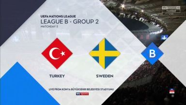 Full match: Turkey vs Sweden