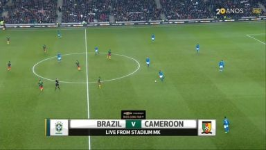 Full match: Brazil vs Cameroon