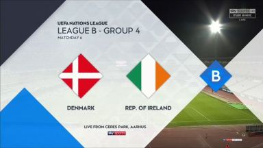 Full match: Denmark vs Republic of Ireland