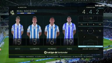 Full match: Real Sociedad vs Sevilla