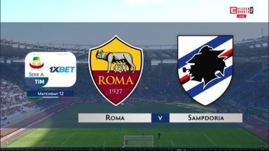 Full match: Roma vs Sampdoria