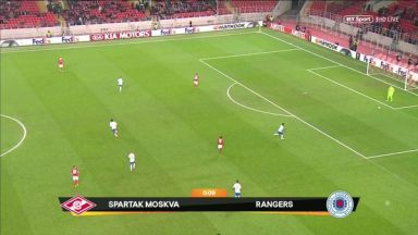 Full match: Spartak Moskva vs Rangers