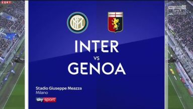 Full match: Inter Milan vs Genoa