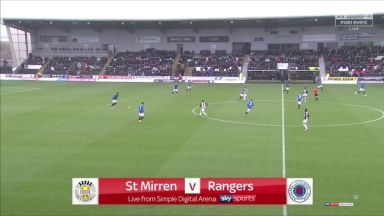 Full match: St. Mirren vs Rangers
