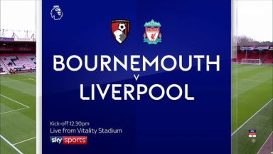 Full match: AFC Bournemouth vs Liverpool