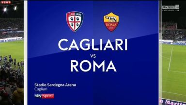 Full match: Cagliari vs Roma
