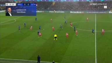 Full match: Club Brugge vs Atletico Madrid