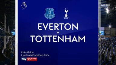 Full match: Everton vs Tottenham Hotspur