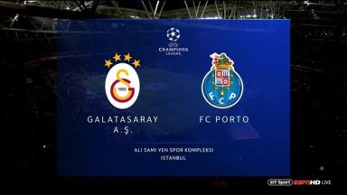 Full match: Galatasaray vs Porto