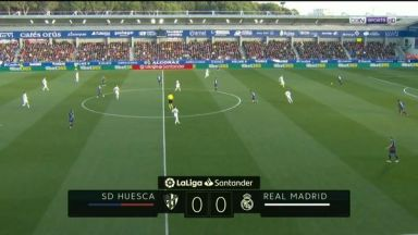 Full match: Huesca vs Real Madrid