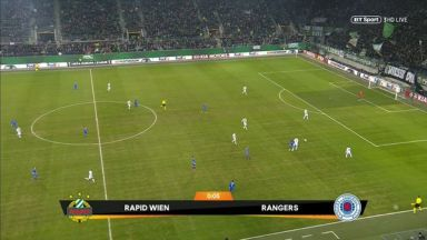 Full match: Rapid Wien vs Rangers