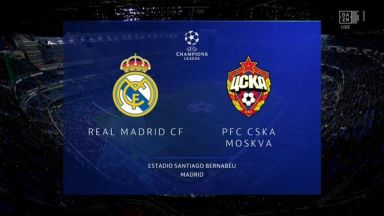 Full match: Real Madrid vs CSKA Moskva