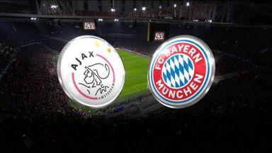 Full match: Ajax vs Bayern Munich