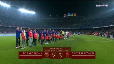 Full match: Barcelona vs Cultural Leonesa
