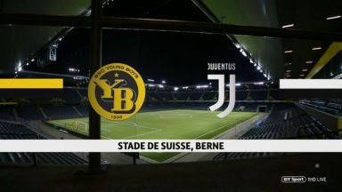 Full match: Young Boys vs Juventus