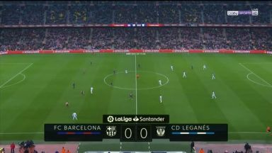 Full match: Barcelona vs Leganes