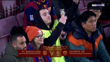 Full match: Barcelona vs Levante