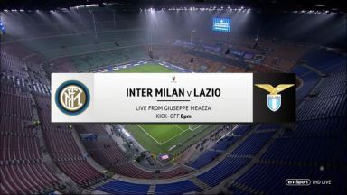 Full match: Inter Milan vs Lazio