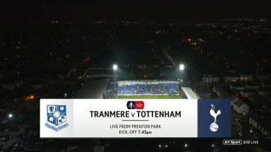 Full match: Tranmere Rovers vs Tottenham Hotspur