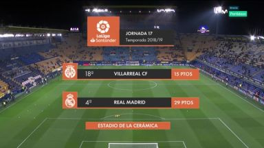 Full match: Villarreal vs Real Madrid