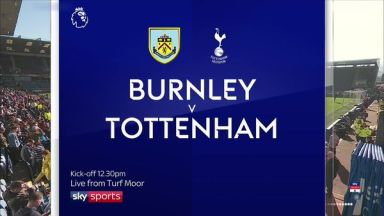 Full match: Burnley vs Tottenham Hotspur