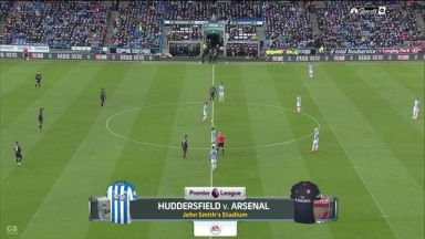 Full match: Huddersfield Town vs Arsenal