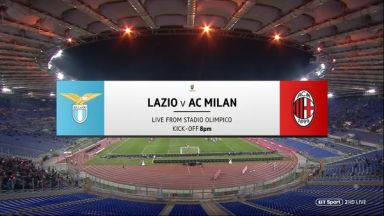 Full match: Lazio vs AC Milan