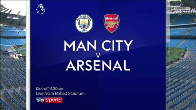 Full match: Manchester City vs Arsenal