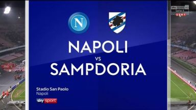 Full match: Napoli vs Sampdoria