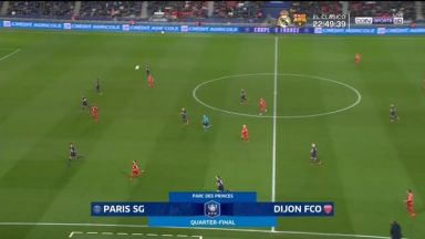 Full match: PSG vs Dijon