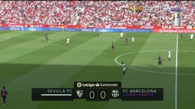 Full match: Sevilla vs Barcelona