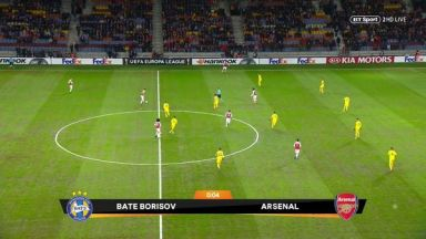 Full match: BATE vs Arsenal