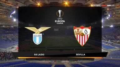 Full match: Lazio vs Sevilla