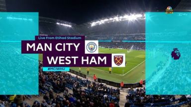 Full match: Manchester City vs West Ham United