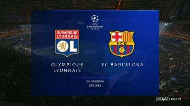 Full match: Olympique Lyonnais vs Barcelona