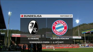 Full match: Freiburg vs Bayern Munich